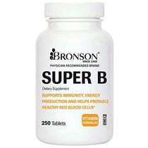 Bronson Labs: Súper Complejo De Vitamina B (vitamina B2 B3 B