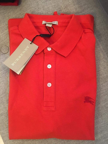 Burberry ... Camisa Tipo Polo (gucci Carolina Vuitton) b0e335fe86f
