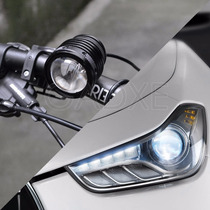 Lampara Bicicleta 1800 Lumens Zoom Led Recargable Luces