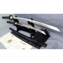 Katana Y Wakizashi Onikiri 100% Funcionales Con Filo Espadas