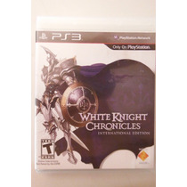 Ps3 Playstation White Knigth Chronicles Rpg Anime Magia