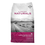 Alimento Diamond Naturals Large Breed Puppy Perro Cachorro Raza Grande Cordero/arroz 9kg