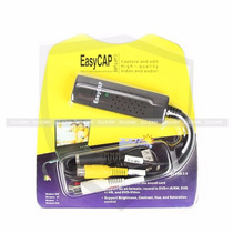 Easycap Adaptador Usb Video Audio Rca S-video 2clicmx