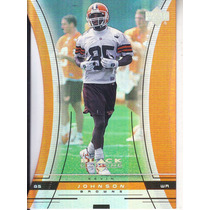 1999 Ud Black Diamond Cut Rookie Kevin Johnson Wr Browns