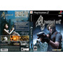 Resident Evil 4 Ps2 Etiqueta Negra Incluye Manual Usado