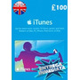 Tarjeta Gift Card Itunes Inglaterra Uk 100� Iphone Ipad Ipod