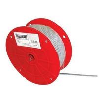 Cable De Acero Con Forro 3/16 X 1/4 M Toolcraft