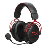 Audífonos Hyperx Cloud Alpha Red
