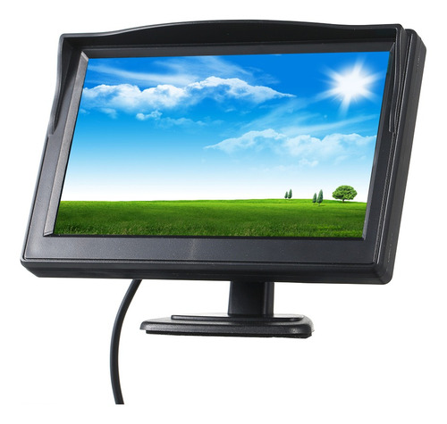 Monitor Lcd A Color De 5 In 480x272 Para Auto