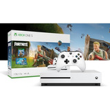 Consola Xbox One S 1tb Paquete Fortnite + Mes Gold / Gamepas