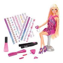 Barbie Pelo Tatuajes Muñeca
