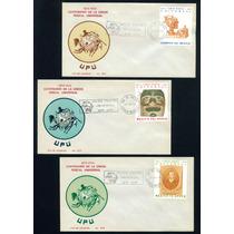 Mexico 1974 Union Postal Universal Sobre Fdc Con Timbre Cpl