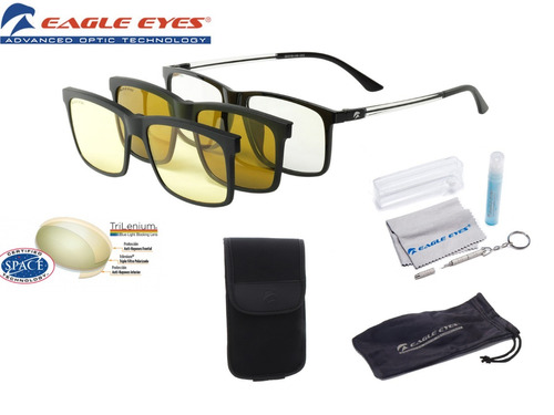3d9659bab8 Lentes Eagle Eyes Super Sight 3 En 1 Originales De Inova