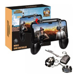 Gamepad Control Free Fire Gatillos Joystick Kit Pubg Llavero