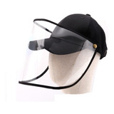 Gorra Careta Protector Facial Ajustable Cubre Bocas Mascara