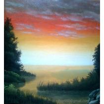 Pinturas Al Oleo Hechas A Mano Por Encargo