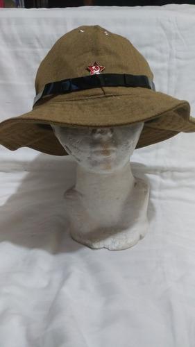 Sombrero Panamá Soviético Guerra Afganistán Original 60 Cms 18f03838de6