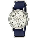 c2606b08efd3 Reloj Timex Weekender Con Cronógrafo 40 Mm  )
