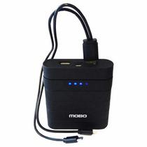 Bateria Externa Mobo No. 29 Negra 10 000 Mah 2 Entradas Usb