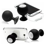Mini Bocina Y Base Para Celular Portatil Recargable Musica
