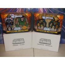 Dc Universe Justice League Unlimited Darkseid Y Kalibak +