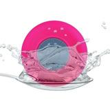 Bocina Contra Agua Bluetooth Recargable Waterprof Rosa