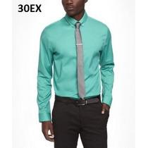 Xs, L - Camisa Express Turquesa Ropa De Hombre 100% Original