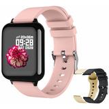 Reloj Inteligente Deportivo Bluetooth Impermeable Mujer