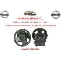 Bomba Licuadora Direccion Hidraulica Nissan Altima 4cyl 2007