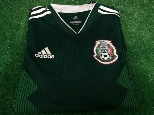 481d22c414f6d Jersey Playera México Selección Climachill Rusia 2018