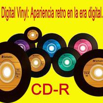 Disco Compacto Digital Vinyl Verbatim 80m 52x Torre C/50