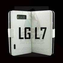 Funda Cartera Con Funcion Soporte Lg L7