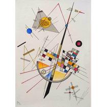 Lienzo Tela Tensión Delicada Wassily Kandinsky Abstracto