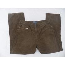 Pantalon De Pana Polo Ralph Lauren Talla 36x30