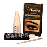 Henna Para Cejas O Pestañas Color Negro Tinte Lifting