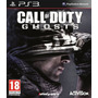 Call Of Duty Ghosts + Gta San Andreas Ps3