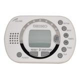Metrónomo Digital Multi Funcional Blanco Seiko Dm-110