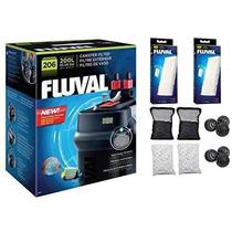 Pecera Fluval Acuario Frasco Pro Kit Fluval 206 Pro Kit - 4