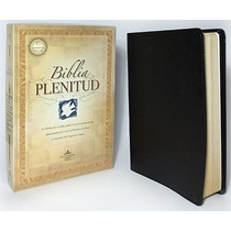 Biblia De Estudio Plenitud Piel Elaborada Negro Rvr60