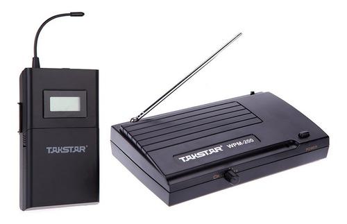 Sistema De Monitoreo Inalámbrico Takstar Wpm-200 Uhf 50 M