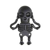 Aneew 16gb Negro Pendrive Skull Modelo Memoria Usb Memoria T
