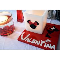 Centro De Mesa Minnie Mouse Aluzza.