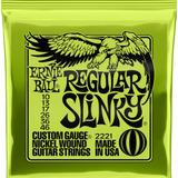 Cuerdas Guitarra Electrica Ernie Ball Regular Slinky 10-46