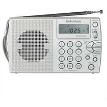 Radio Shack Compacto Portátil Am / Fm / Onda Corta Radio