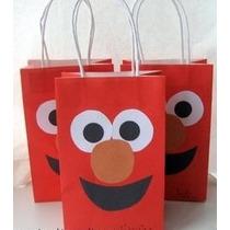 Bolsas Para Fiesta Infantil De Elmo