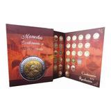 Album Para Monedas De 5 Pesos Modelo Zapata Y Villa