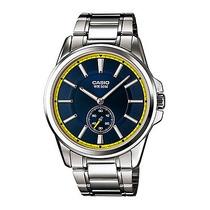 Reloj Casio Caballero Mtp E101d - 2av Analogo 100% Original