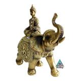 Buda Con Elefante - Atrayente De Salud Y Abundancia