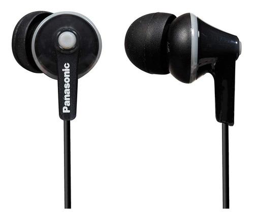 Audífonos Panasonic Ergofit Rp-hje125 Negro