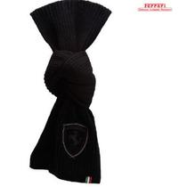 Bufanda Puma Ferrari (ferrari Knit Scarf) Negra 100%original